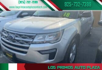 2018 Ford Explorer for sale at Los Primos Auto Plaza in Antioch CA