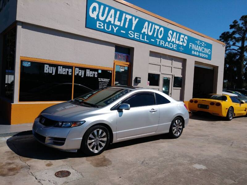 2010 Honda Civic for sale at QUALITY AUTO SALES OF FLORIDA in New Port Richey FL
