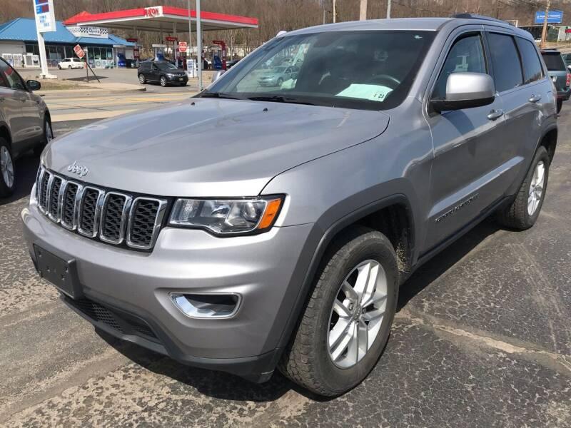 2018 Jeep Grand Cherokee for sale at Rinaldi Auto Sales Inc in Taylor PA