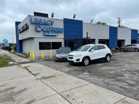 2015 Chevrolet Trax for sale at Legacy Motors in Detroit MI