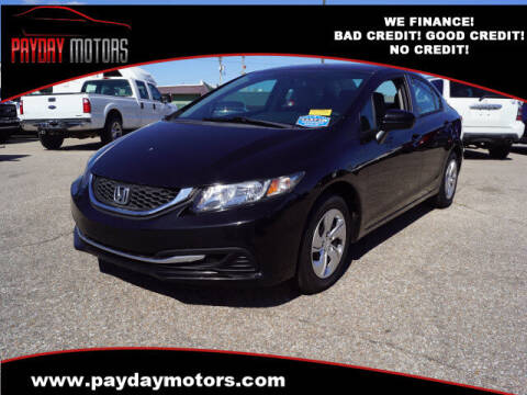 2014 Honda Civic for sale at Payday Motors in Wichita KS