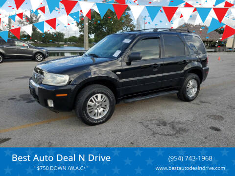 2006 Mercury Mariner for sale at Best Auto Deal N Drive in Hollywood FL