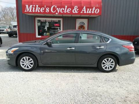2013 Nissan Altima for sale at MIKE'S CYCLE & AUTO in Connersville IN