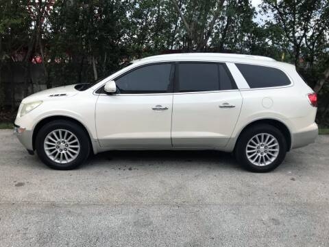 2009 Buick Enclave for sale at Zak Motor Group in Deerfield Beach FL