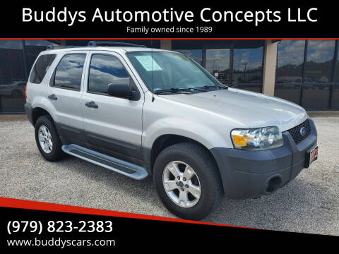 2006 Ford Escape for sale at Buddys Automotive Concepts LLC in Bryan TX