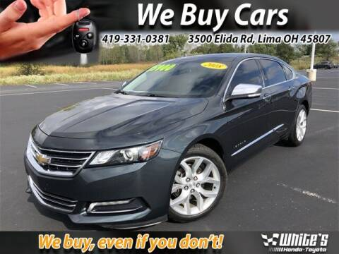 2018 Chevrolet Impala for sale at White's Honda Toyota of Lima in Lima OH
