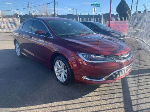 2016 Chrysler 200 for sale at Robert B Gibson Auto Sales INC in Albuquerque NM