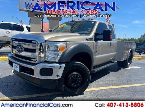 2012 Ford F-450 Super Duty for sale at American Financial Cars in Orlando FL