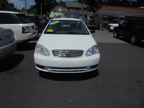 2003 Toyota Corolla for sale at Washington Street Auto Sales in Canton MA