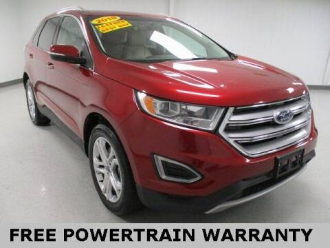 2018 Ford Edge for sale at Sports & Luxury Auto in Blue Springs MO