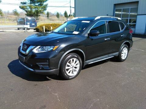 2017 Nissan Rogue for sale at Riverside Auto Sales & Service in Portland ME