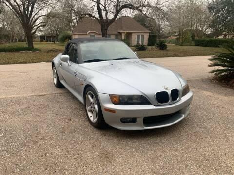 1997 BMW Z3 for sale at CARWIN MOTORS in Katy TX
