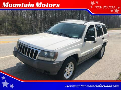 2003 Jeep Grand Cherokee for sale at Mountain Motors in Newnan GA