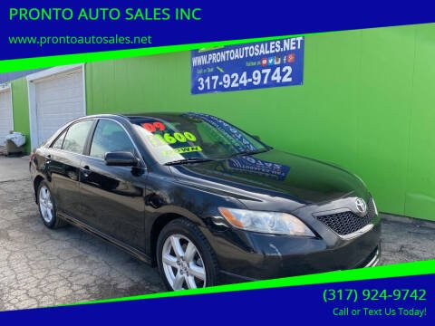 2009 Toyota Camry for sale at PRONTO AUTO SALES INC in Indianapolis IN