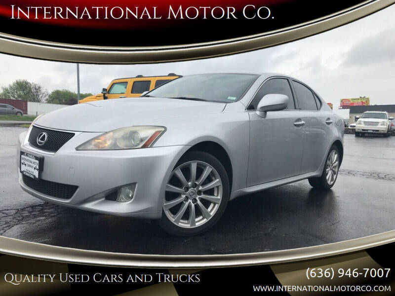 2008 Lexus IS 250 for sale at International Motor Co. in Saint Charles MO