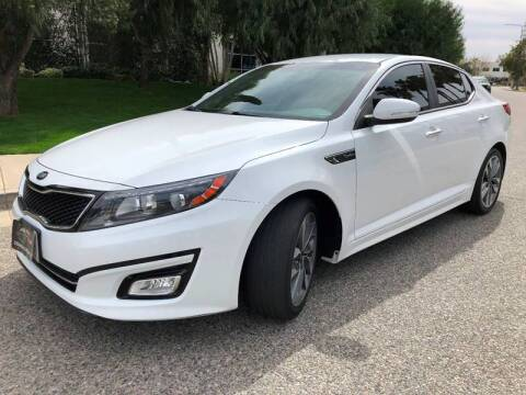2014 Kia Optima for sale at Donada  Group Inc in Arleta CA