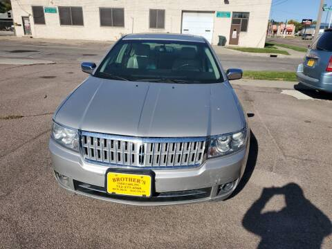 2007 Lincoln MKZ for sale at Brothers Used Cars Inc in Sioux City IA
