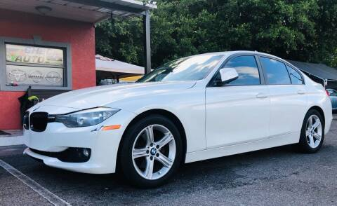 2013 BMW 3 Series for sale at CHECK  AUTO INC. in Tampa FL