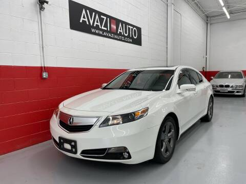 2013 Acura TL for sale at AVAZI AUTO GROUP LLC in Gaithersburg MD