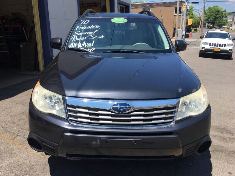 2010 Subaru Forester for sale at B&T Auto Service in Syracuse NY