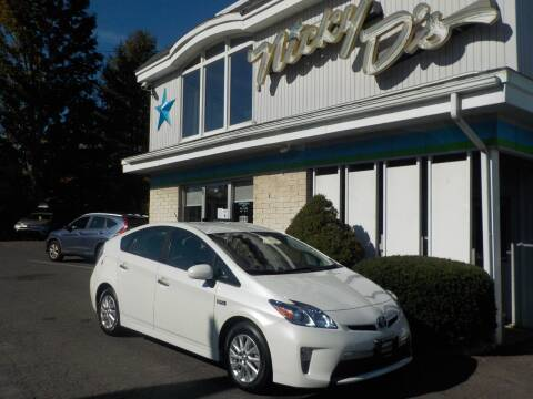 2015 Toyota Prius Plug-in Hybrid for sale at Nicky D's in Easthampton MA