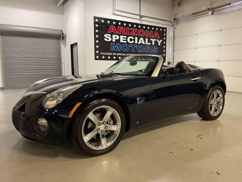 2008 Pontiac Solstice for sale at Arizona Specialty Motors in Tempe AZ