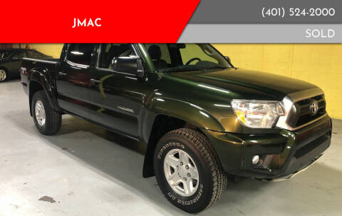 2013 Toyota Tacoma for sale at JMAC in Attleboro MA