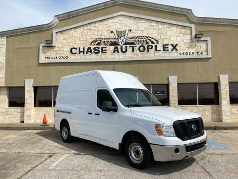2017 Nissan NV Cargo for sale at CHASE AUTOPLEX in Lancaster TX