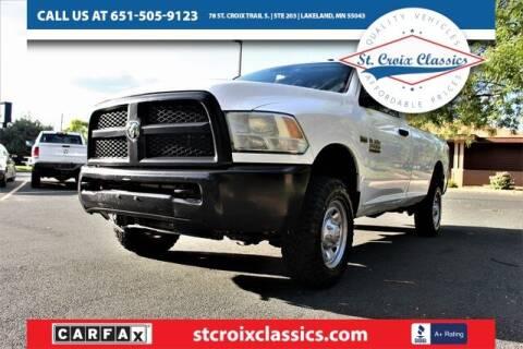 2015 RAM Ram Pickup 2500 for sale at St. Croix Classics in Lakeland MN