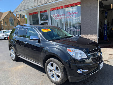 2011 Chevrolet Equinox for sale at KUHLMAN MOTORS in Maquoketa IA