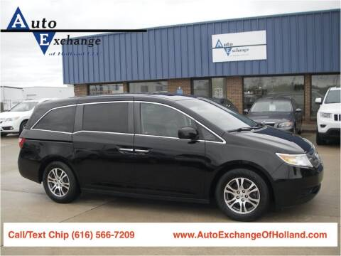 2011 Honda Odyssey for sale at Auto Exchange Of Holland in Holland MI