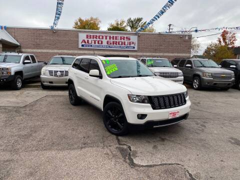 2012 Jeep Grand Cherokee for sale at Brothers Auto Group in Youngstown OH