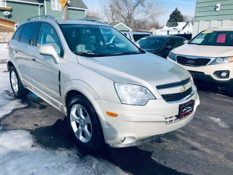 2013 Chevrolet Captiva Sport for sale at SHEFFIELD MOTORS INC in Kenosha WI