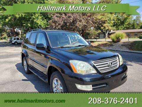 2005 Lexus GX 470 for sale at HALLMARK MOTORS LLC in Boise ID