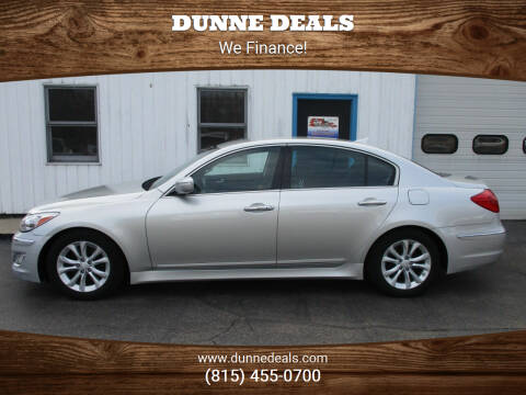 2013 Hyundai Genesis for sale at Dunne Deals in Crystal Lake IL