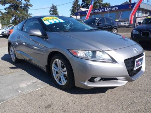 2012 Honda CR-Z for sale at All American Motors in Tacoma WA