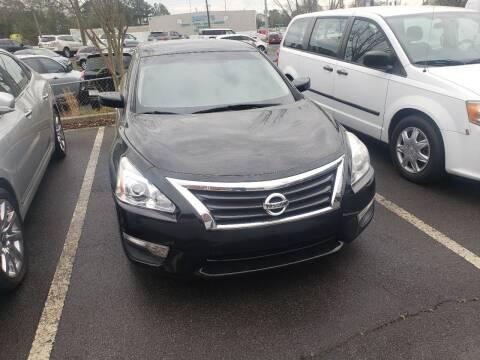 2015 Nissan Altima for sale at Credit Cars LLC in Lawrenceville GA