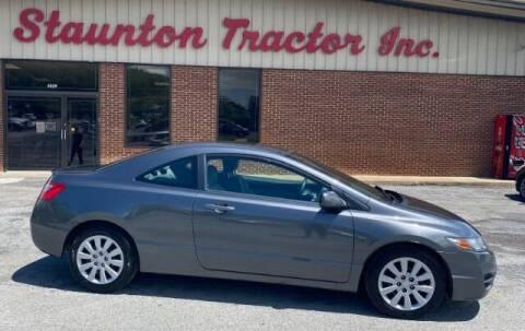 2010 Honda Civic for sale at STAUNTON TRACTOR INC in Staunton VA
