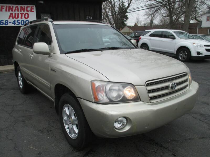 2003 Toyota Highlander for sale at EZ Finance Auto in Calumet City IL