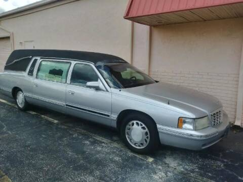 1999 Cadillac DeVille for sale at Classic Car Deals in Cadillac MI