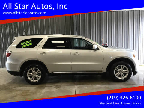 2011 Dodge Durango for sale at All Star Autos, Inc in La Porte IN
