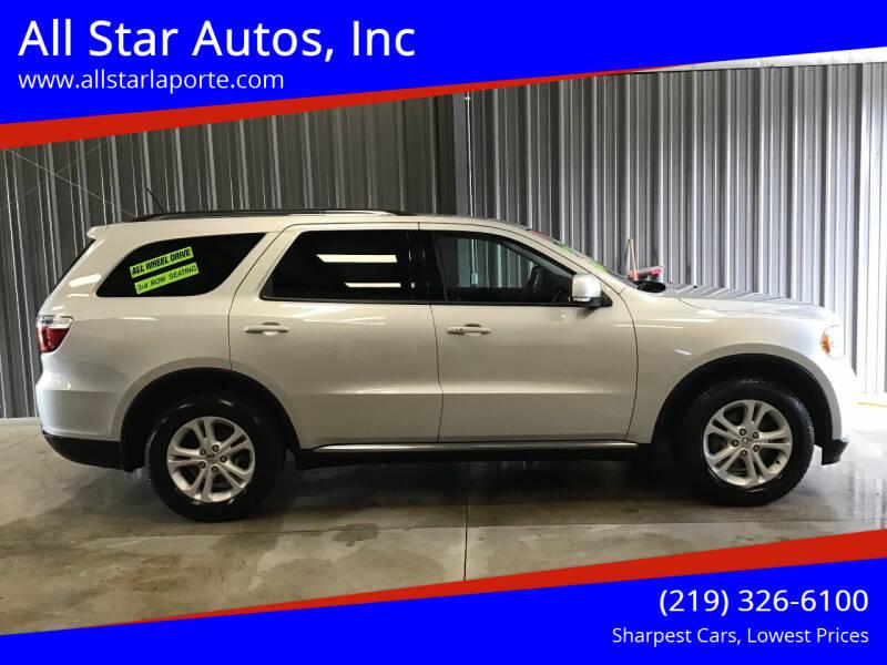 2011 Dodge Durango for sale at All Star Autos, Inc in La Porte IN