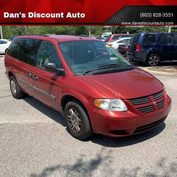 2006 Dodge Grand Caravan for sale at Dan's Discount Auto in Gaston SC