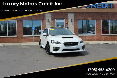 2015 Subaru WRX for sale at Luxury Motors Credit Inc in Bridgeview IL