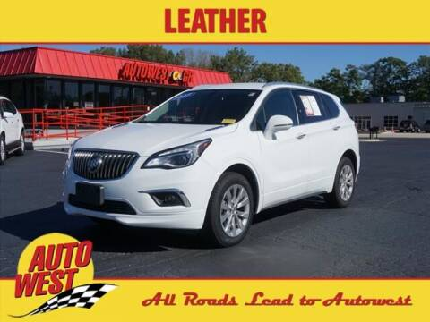 2017 Buick Envision for sale at Autowest of GR in Grand Rapids MI
