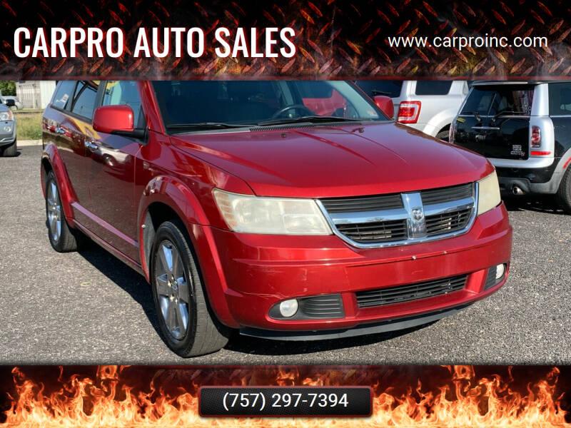 2010 Dodge Journey for sale at Carpro Auto Sales in Chesapeake VA