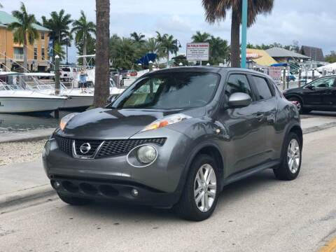 2013 Nissan JUKE for sale at L G AUTO SALES in Boynton Beach FL