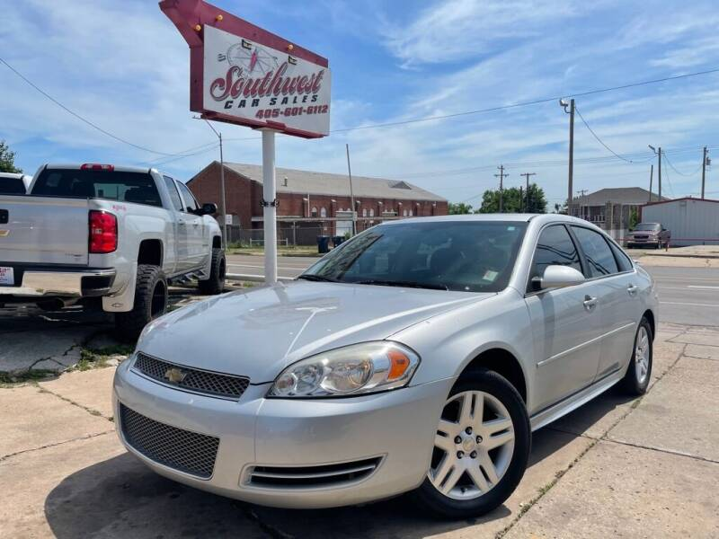 2012 Chevrolet Impala for sale at Southwest Car Sales in Oklahoma City OK