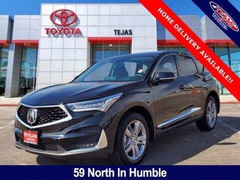 2020 Acura RDX for sale at TEJAS TOYOTA in Humble TX