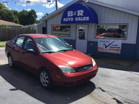 2005 Ford Focus for sale at B & R Auto Sales in Terre Haute IN
